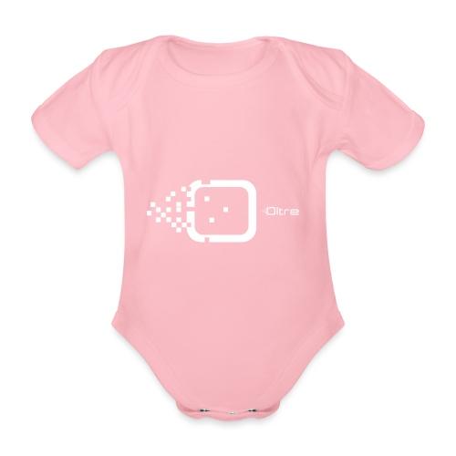 Logo Associazione Oltre - Body ecologico per neonato a manica corta
