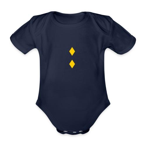 Upseerikokelas - Vauvan lyhythihainen luomu-body