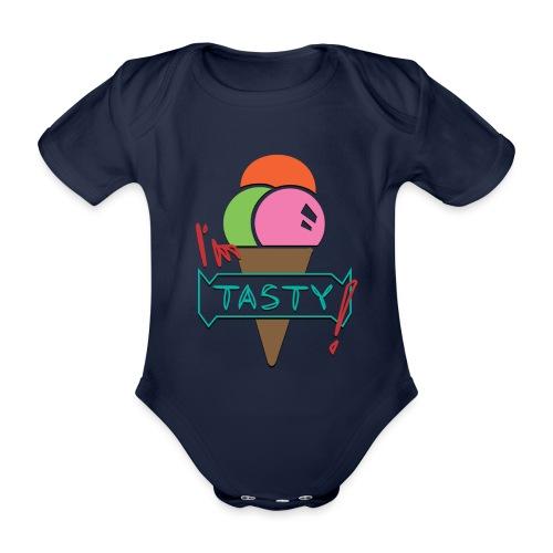 I'm tasty - Ice Cream - Baby Bio-Kurzarm-Body