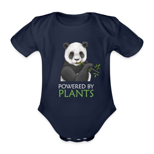 Plantbased Panda - Ekologisk kortärmad babybody