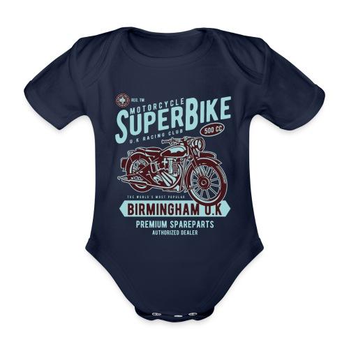 T-Shirt Moto Vintage années 50/60 - Body Bébé bio manches courtes