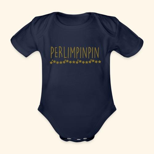 PERLIMPINPIN - Body bébé bio manches courtes