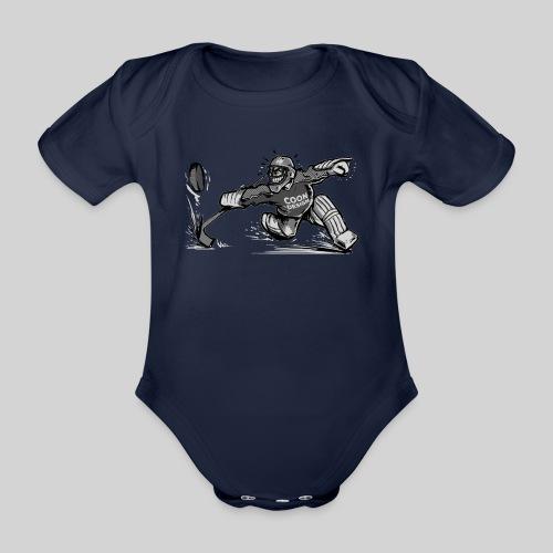 CoonDesign - Goalie II - Baby Bio-Kurzarm-Body