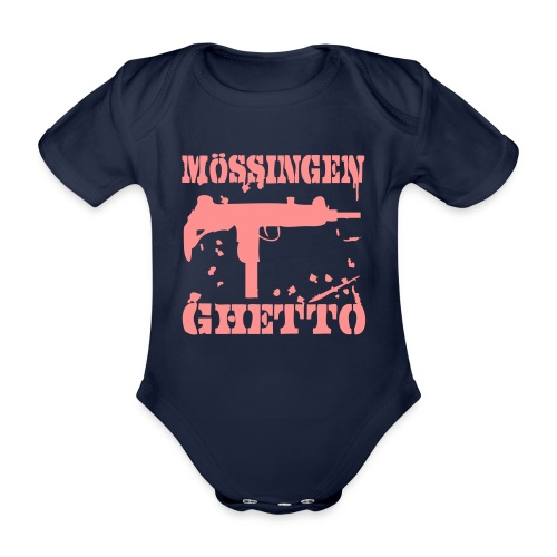 ghettoshirt - Baby Bio-Kurzarm-Body