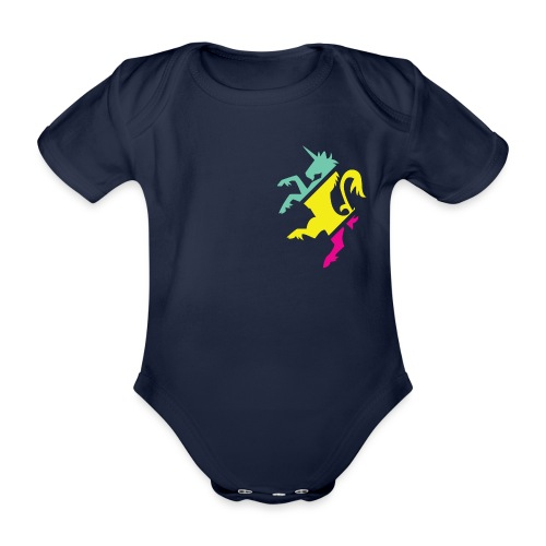 UNICROIS - Organic Short-sleeved Baby Bodysuit