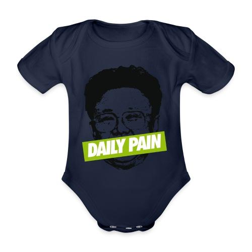 daily pain cho - Ekologiczne body niemowlęce z krótkim rękawem
