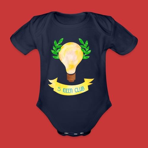 5 IDEEN CLUB Glühbirne 2018 - Baby Bio-Kurzarm-Body