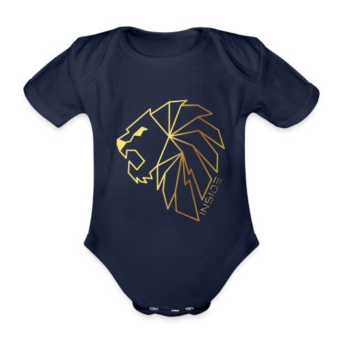 Löwe, Lion Inside - Baby Bio-Kurzarm-Body