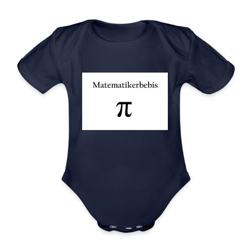 Matematikerbebis jpg - Ekologisk kortärmad babybody