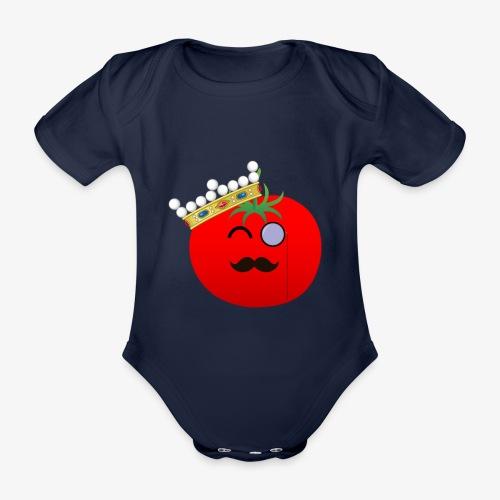 Tomatbaråonin - Ekologisk kortärmad babybody