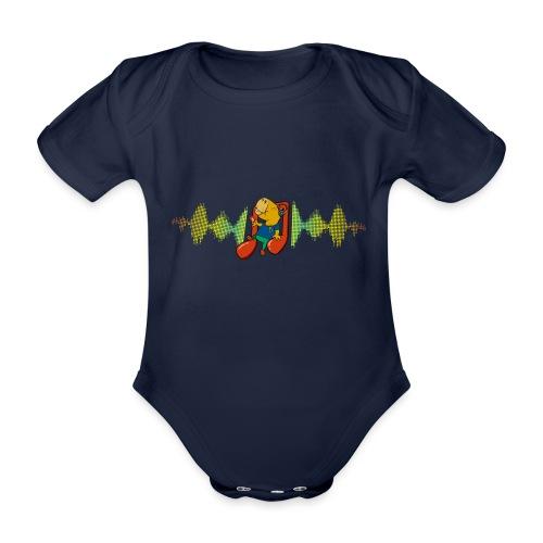Chilling Capybara - Baby Bio-Kurzarm-Body