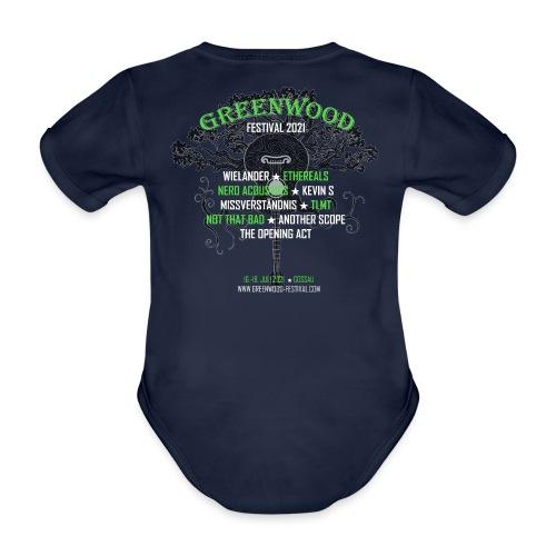 Greenwood Bands 2021 - Baby Bio-Kurzarm-Body