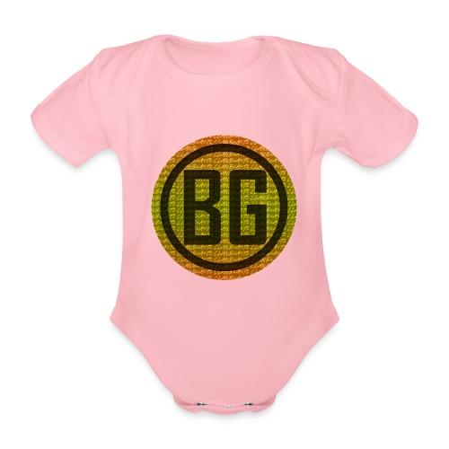 BeAsTz GAMING HOODIE - Organic Short-sleeved Baby Bodysuit
