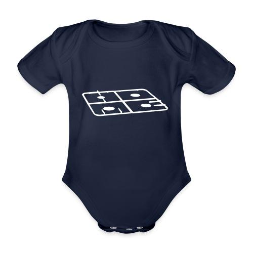 Home - Baby bio-rompertje met korte mouwen