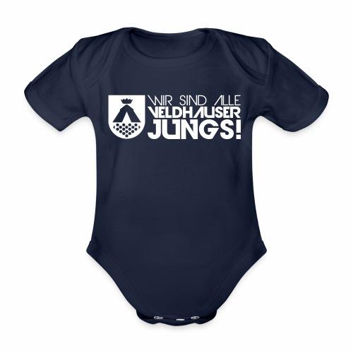 wappen jungs - Baby Bio-Kurzarm-Body