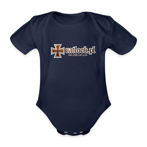 ratlook pl - Ekologiczne body niemowlęce z krótkim rękawem