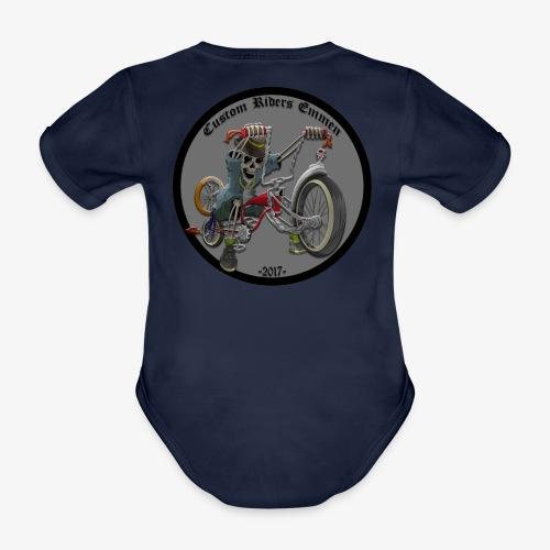 Custom Riders Emmen - Baby bio-rompertje met korte mouwen