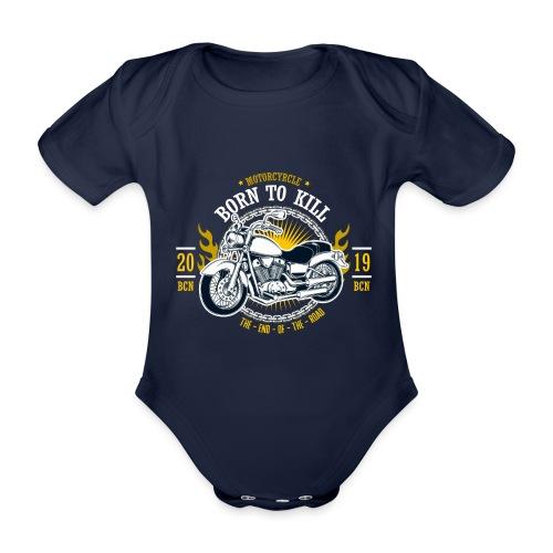 Motorcycle1 - Body orgánico de maga corta para bebé