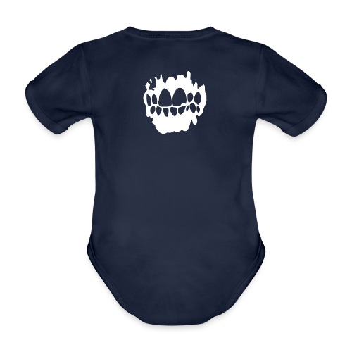 Lowlife - Inverterad - Ekologisk kortärmad babybody