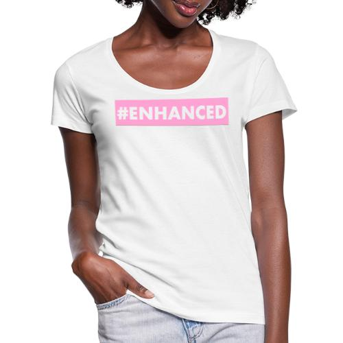 ENHANCED BOX - Women's Scoop Neck T-Shirt