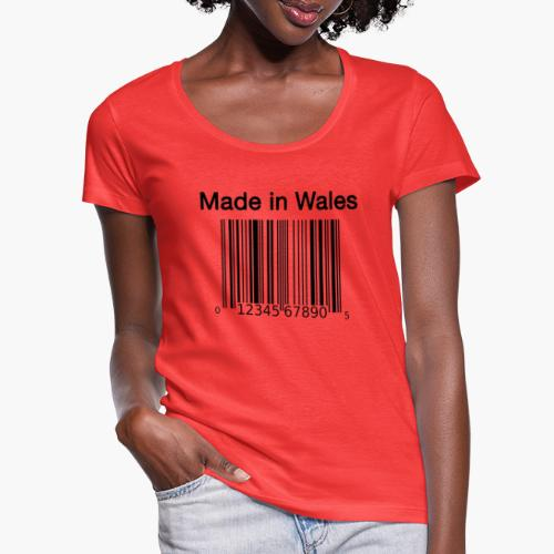 Made in Wales - Women's Scoop Neck T-Shirt