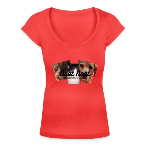 Animal Merch - Women's Scoop Neck T-Shirt