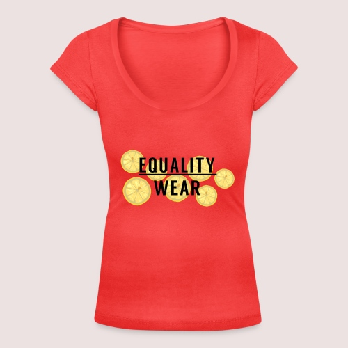 Equality Wear Fresh Lemon Edition - Women's Scoop Neck T-Shirt