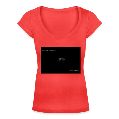 Lost Ma Heart - Women's Scoop Neck T-Shirt