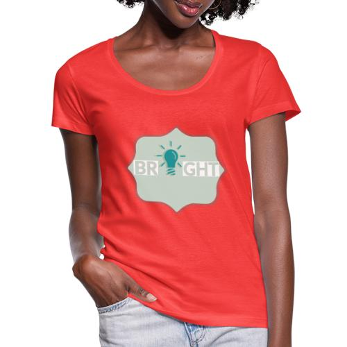 bright - Women's Scoop Neck T-Shirt