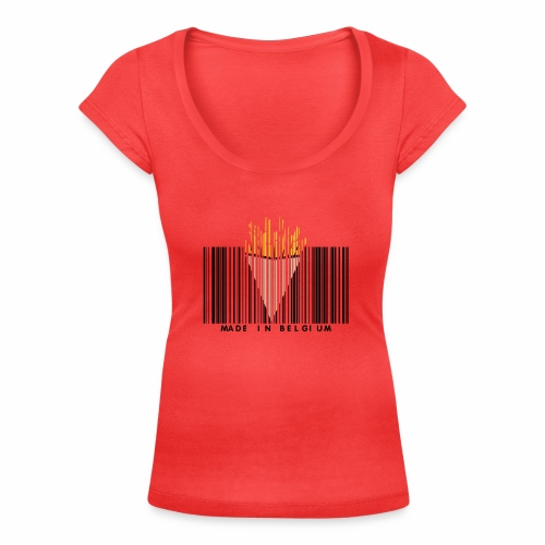 Made In Belgium - T-shirt col U Femme