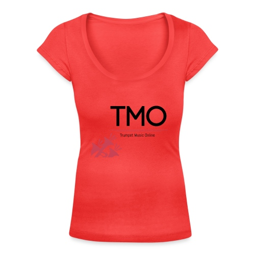 TMO Logo - Women's Scoop Neck T-Shirt