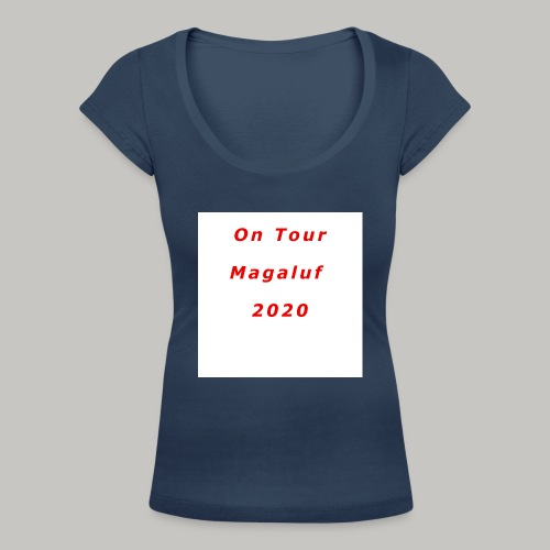 On Tour In Magaluf, 2020 - Printed T Shirt - Women's Scoop Neck T-Shirt