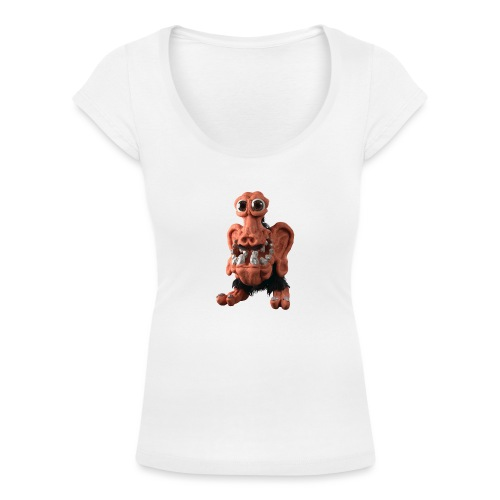 Very positive monster - Women's Scoop Neck T-Shirt