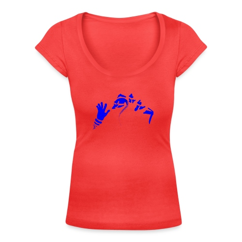 Stop (Vio) - Women's Scoop Neck T-Shirt