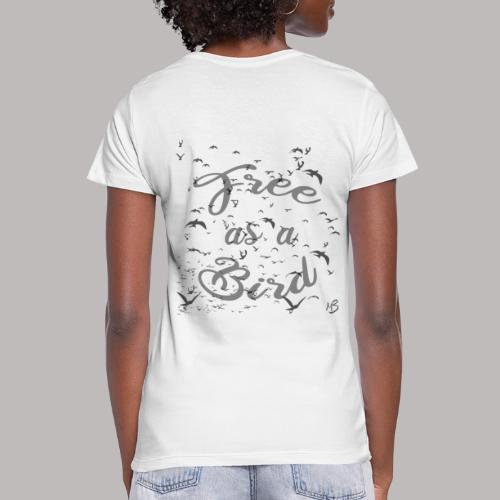 free as a bird | free as a bird - Women's Scoop Neck T-Shirt