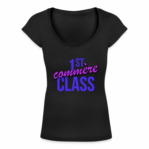 First Commère Class - T-shirt col U Femme