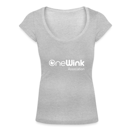 OneWink Association - T-shirt col U Femme