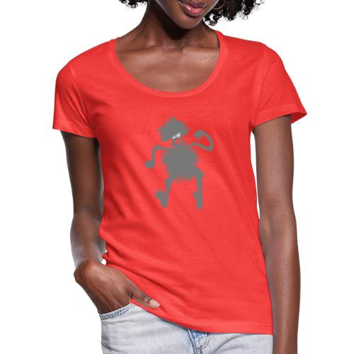 Dancing at the Discoteque - T-shirt scollata donna