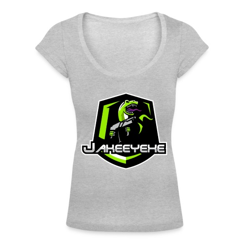 JakeeYeXe Badge - Women's Scoop Neck T-Shirt