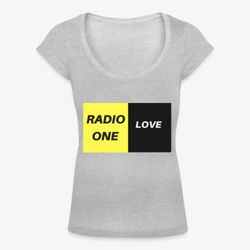 RADIO ONE LOVE - T-shirt col U Femme