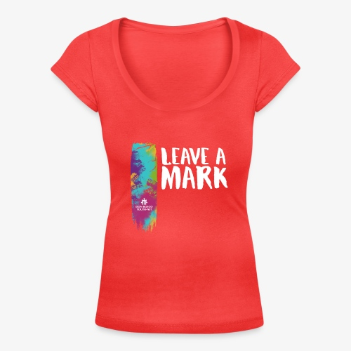 Leave a mark - Women's Scoop Neck T-Shirt