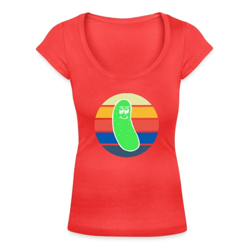 Vintage Colored Pickle #3 - T-shirt scollata donna