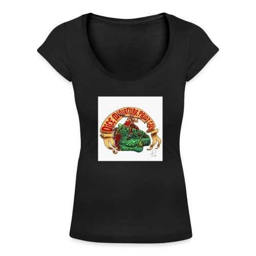 DiceMiniaturePaintGuy - Women's Scoop Neck T-Shirt