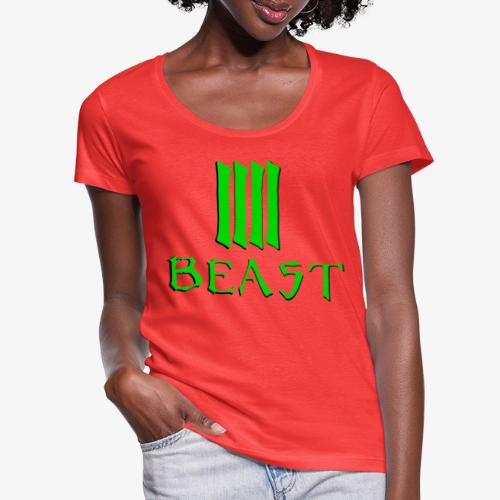 Beast Green - Women's Scoop Neck T-Shirt