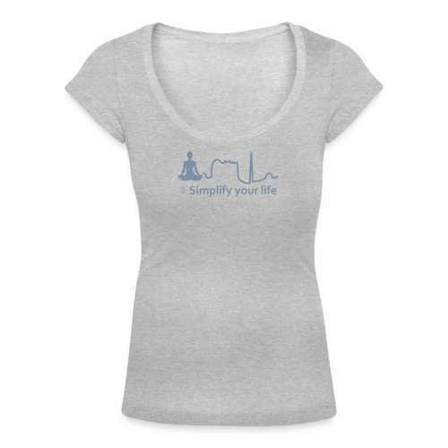 Simplify Your Life MonoCr - T-shirt scollata donna