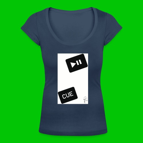 let's play - T-shirt scollata donna