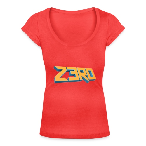 The Z3R0 Shirt - Women's Scoop Neck T-Shirt