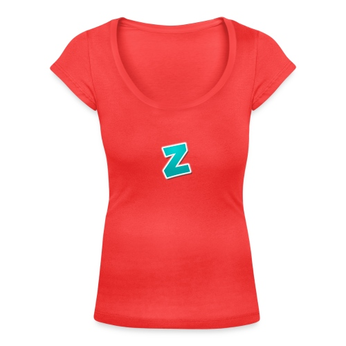 Z3RVO Logo! - Women's Scoop Neck T-Shirt