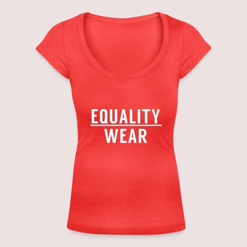 Equality Wear Official Pattern - Women's Scoop Neck T-Shirt