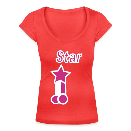 Pornstar! - Women's Scoop Neck T-Shirt